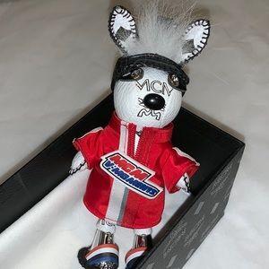 Mcm sporty rabbit keychain